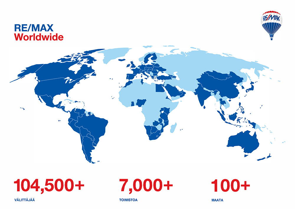 RE/MAX World Map